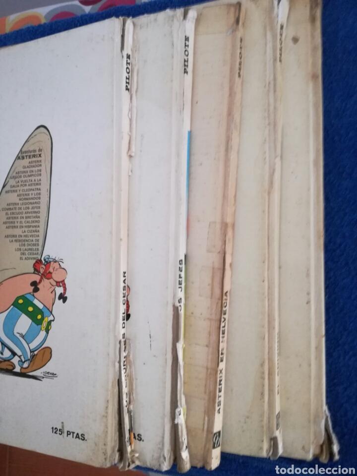 Cómics: Lote de 5 comic de Asterix de la Editorial Bruguera.Años 60 y 70 - Foto 2 - 134900325