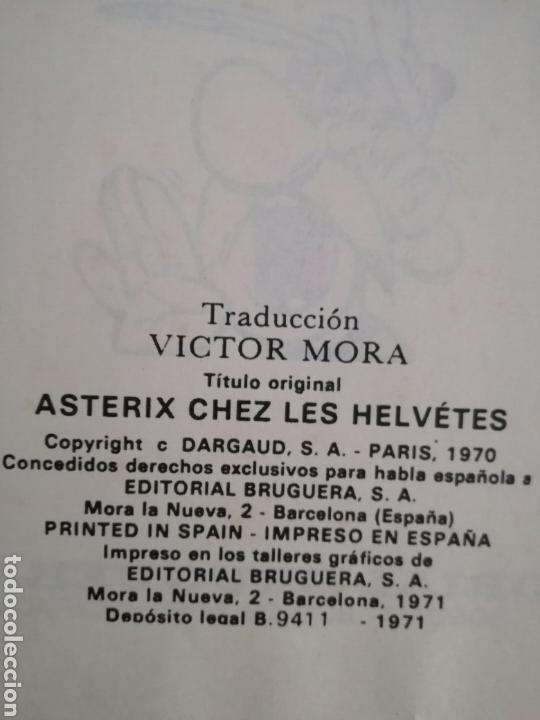 Cómics: Lote de 5 comic de Asterix de la Editorial Bruguera.Años 60 y 70 - Foto 3 - 134900325