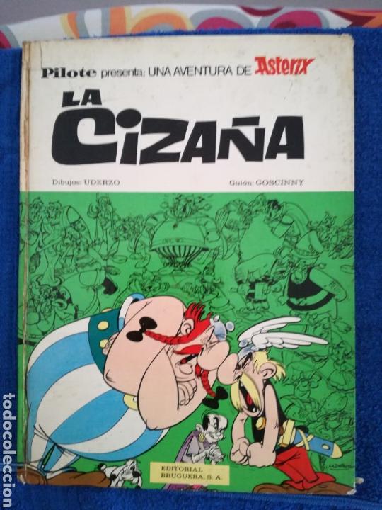 COMIC DE ASTERIX LA CIZAÑA DE LA EDITORIAL BRUGUERA (Tebeos y Comics - Grijalbo - Asterix)