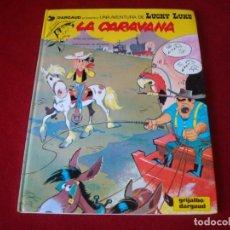 Comics : LUCKY LUKE Nº 12 LA CARAVANA GRIJALBO DALGAUD 1991 TAPA DURA . Lote 135358730