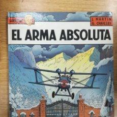 Cómics: LEFRANC #8 EL ARMA ABSOLUTA. Lote 135367034