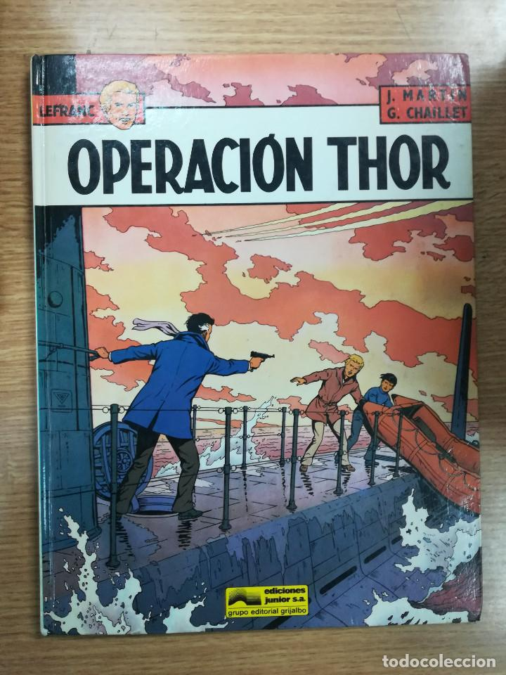 LEFRANC #6 OPERACION THOR (Tebeos y Comics - Grijalbo - Lefranc)