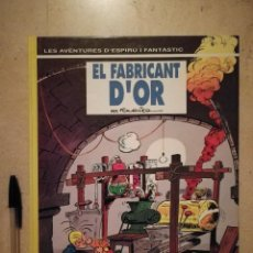 Fumetti: EL FABRICANT D'OR Nº 33 - INFANTIL - TAPA DURA - EN CATALÁN - ED. GRIJALBO - FOURNIER. Lote 135403118