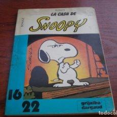 Cómics: LA CASA DE SNOOPY, Nº 13. SCHULZ, PEANUTS. GRIJALBO / DARGAUD 1.983, INTERIOR CON PINTADAS A BOLI. Lote 135439566