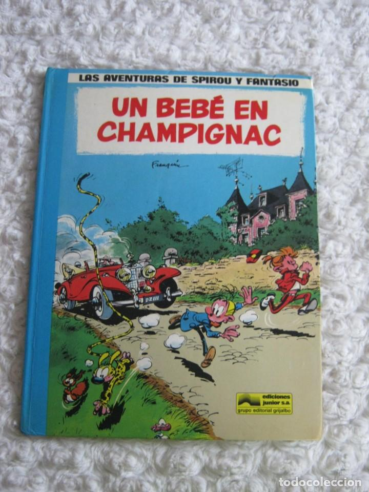 LAS AVENTURAS DE SPIROU Y FANTASIO - UN BEBE EN CHAMPIGNAC - 15 (Tebeos y Comics - Grijalbo - Spirou)