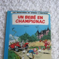 Comics: LAS AVENTURAS DE SPIROU Y FANTASIO - UN BEBE EN CHAMPIGNAC - 15. Lote 135592430