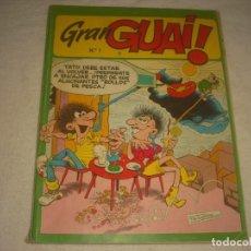 Cómics: GRAN GUAI ! Nº 1 , RETAPADO, CONTIENE LOS NUMEROS 60, 61, 62 Y 63. Lote 135603914