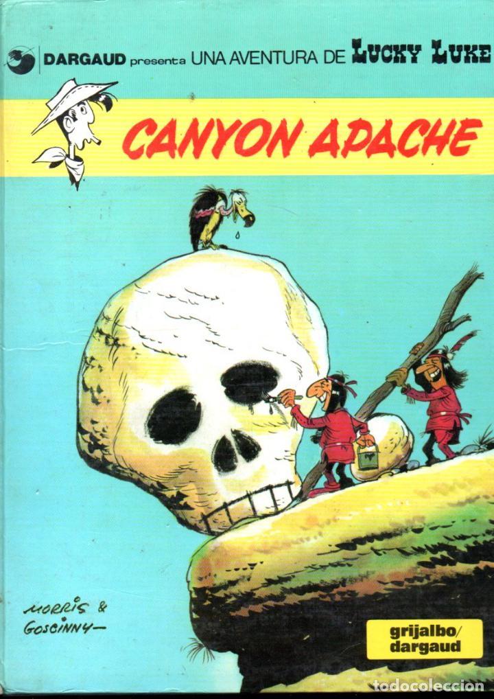LUCKY LUKE CANYON APACHE (1985) (Tebeos y Comics - Grijalbo - Lucky Luke)
