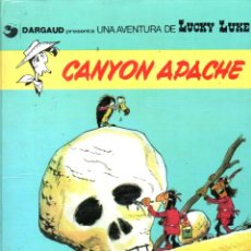 Cómics: LUCKY LUKE CANYON APACHE (1985). Lote 135605546