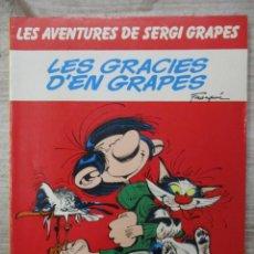 Cómics: LES AVENTURES DE SERGI EL GRAPES - LES GRACIES DEL GRAPES - EDICIONES JUNIOR. Lote 141871106