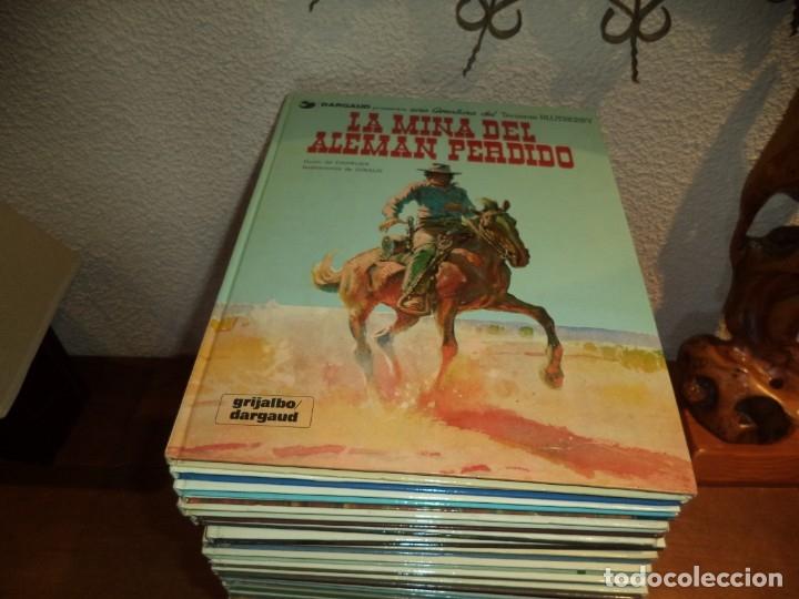 Cómics: El Teniente Blueberry Años 1977/ 2019 Lote de 52 Tebeos de Tapas Duras Nº 1 al 52 colección completa - Foto 3 - 134259782