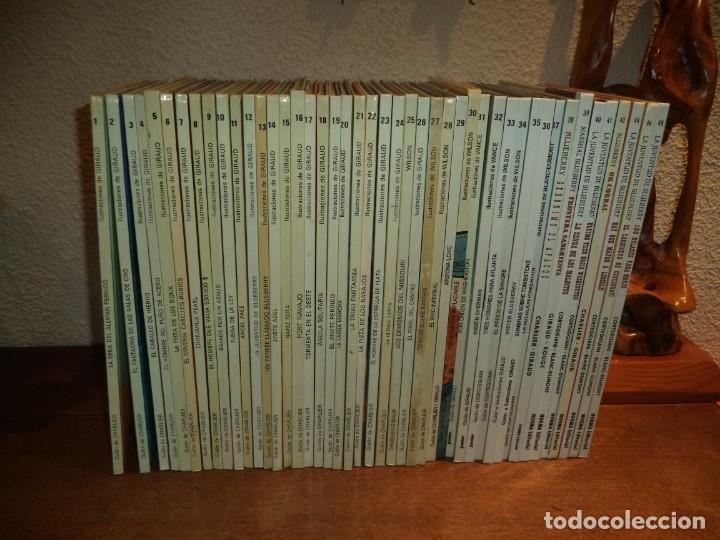 Cómics: El Teniente Blueberry Años 1977/ 2019 Lote de 52 Tebeos de Tapas Duras Nº 1 al 52 colección completa - Foto 2 - 134259782