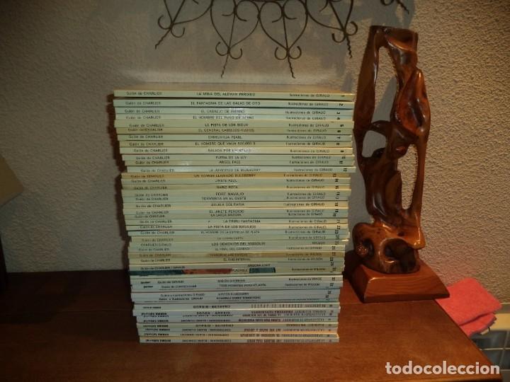 Cómics: El Teniente Blueberry Años 1977 /2006 Lote de 45 Tebeos de Tapas Duras del Nº 1 al 42 - 44 - 46 - 48 - Foto 5 - 134259782