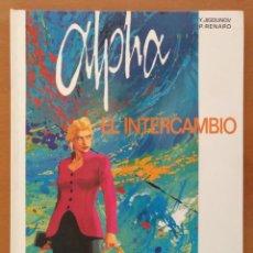 Cómics: CÓMIC ALPHA 1-EL INTERCAMBIO, JIGOUNOV/RENARD. GRIJALBO-DARGAUD 1997 CARTONE. Lote 135798442