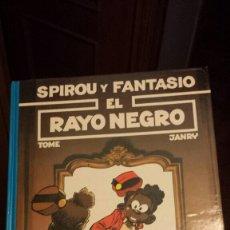 Cómics: SPIROU Y FANTASIO EL RAYO NEGRO TOME Y JANRY 32. Lote 135834653