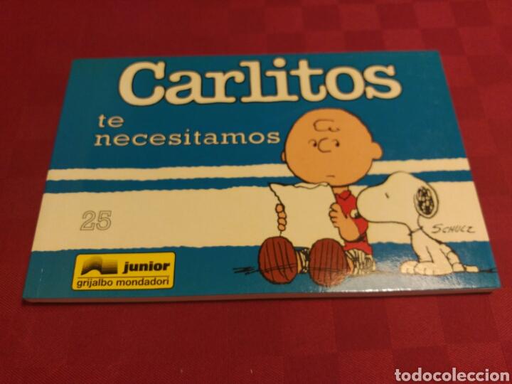 CARLITOS 25 - SCHULZ - JUNIOR GRIJALBO MONDADORI 1995 (Tebeos y Comics - Grijalbo - Otros)