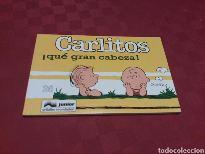 CARLITOS 26 - SCHULZ - JUNIOR GRIJALBO MONDADORI 1995 (Tebeos y Comics - Grijalbo - Otros)