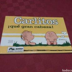 Cómics: CARLITOS 26 - SCHULZ - JUNIOR GRIJALBO MONDADORI 1995. Lote 136116510
