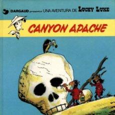Fumetti: LUCKY LUKE-17: CANYON APACHE, DE MORRIS Y GOSCINNY (GRIJALBO/DARGAUD, 1981). Lote 136134746