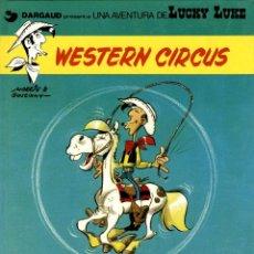 Comics: LUCKY LUKE-15: WESTERN CIRCUS, DE MORRIS Y GOSCINNY (GRIJALBO/DARGAUD, 1981). Lote 136135058