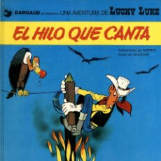 Fumetti: LUCKY LUKE-10: EL HILO QUE CANTA, DE MORRIS Y GOSCINNY (GRIJALBO/DARGAUD, 1979). Lote 136135698