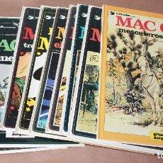 Cómics: MAC COY 4 EL TRIUNFO..6 LA MUERTE BLANCA 7 TRAFICANTES..8 LITTLE..9 EL CAÑON..10 11 12 15 Y SUELTOS. Lote 60499571