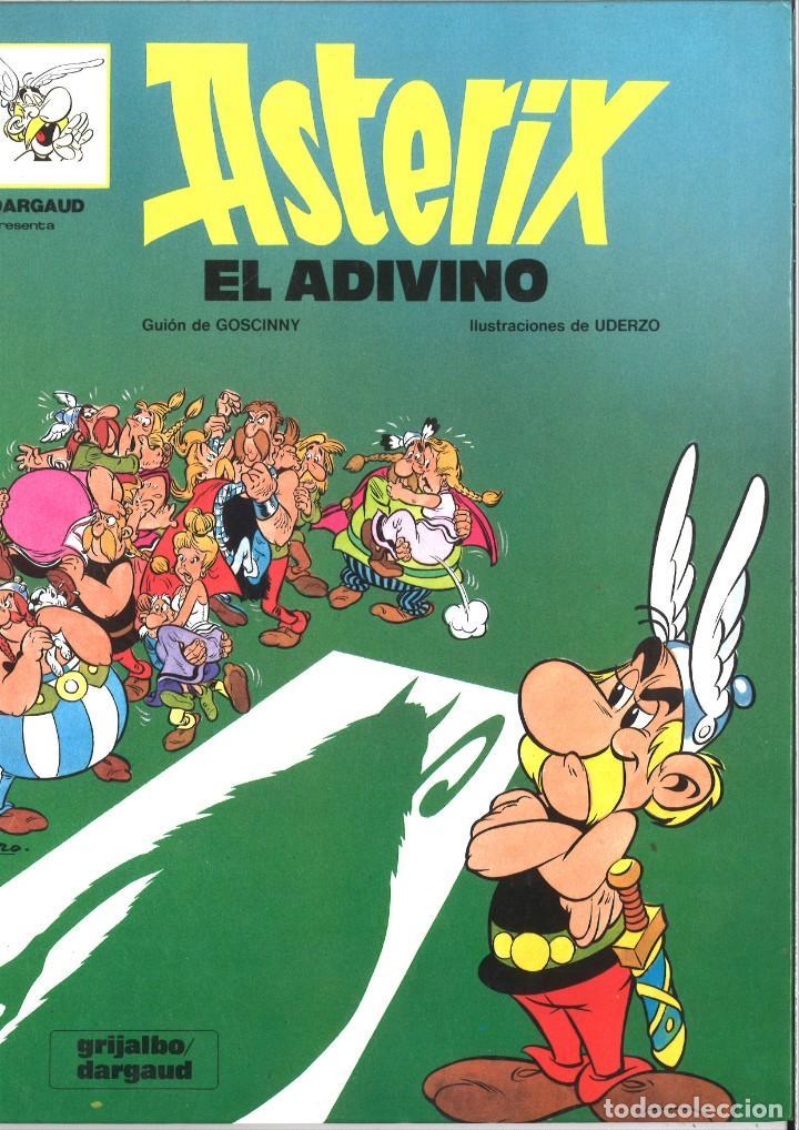 ASTERIX EL ADIVINO. GRIJALBO/DARGAUD. 1993 (Tebeos y Comics - Grijalbo - Asterix)