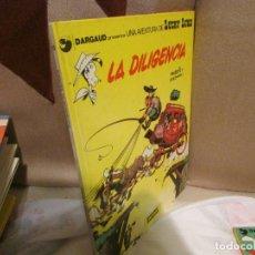 Cómics: LUCKY LUKE 24 LA DILIGENCIA BUEN ESTADO. Lote 136869146