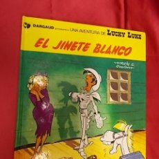 Comics : LUCKY LUKE. Nº 2. EL JINETE BLANCO. GRIJALBO . DARGAUD.. Lote 137359478