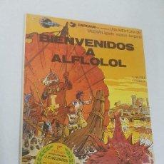 Cómics: VALERIAN - Nº 3 - BIENVENIDOS A ALFLOLOL - GRIJALBO -. Lote 137707198