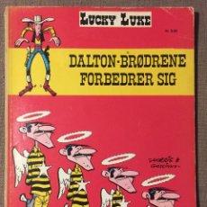 Cómics: LUCKY LUKE - DALTON BRØDRENE ( DANÉS) AÑO 1973. Lote 137761062
