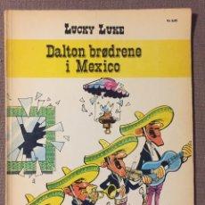 Cómics: LUCKY LUKE - DALTON BRØDRENE I MEXICO ( DANÉS) 1973. Lote 137762126