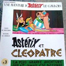Cómics: ASTERIX COMIC EN FRANCES PRADO TAPA BLANDA ET CLEOPATRE. Lote 138584614