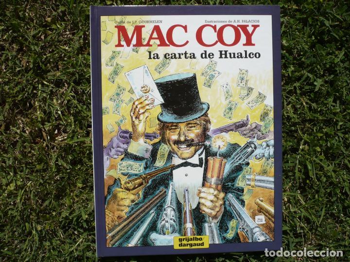 MAC COY 19: LA CARTA DE HUALCO. GOURMELEN & PALACIOS. GRIJALBO / DARGAUD. (Tebeos y Comics - Grijalbo - Mac Coy)