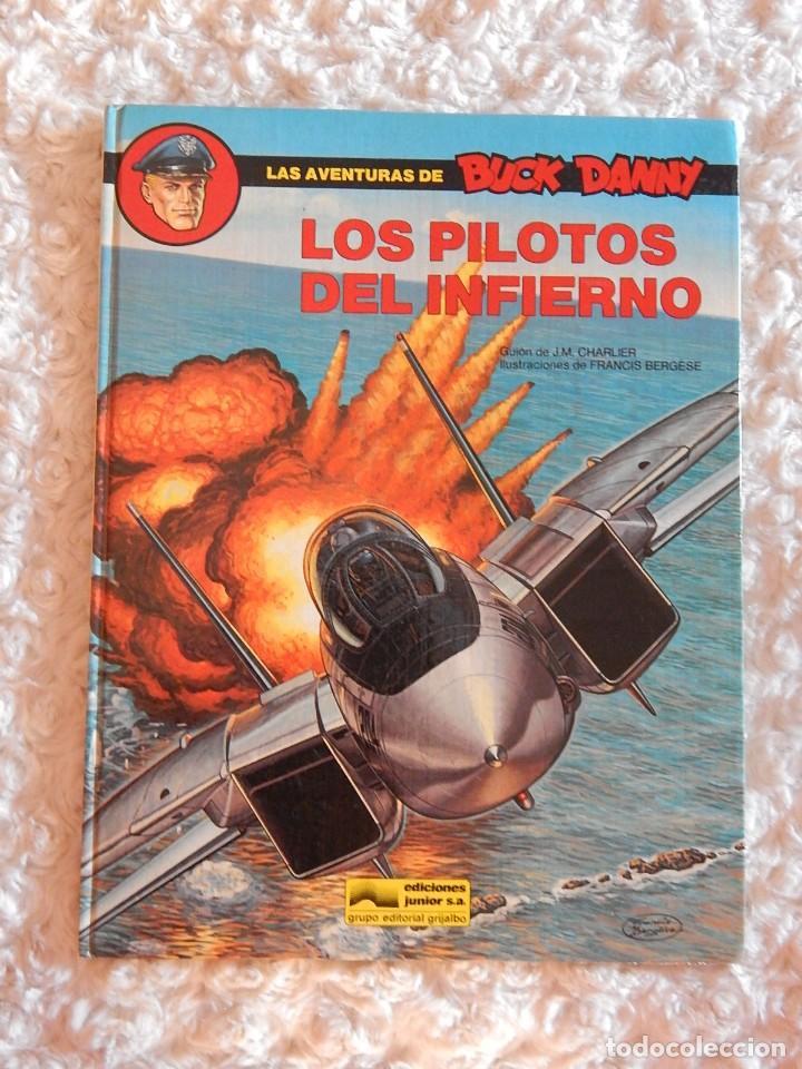 LAS AVENTURAS DE BUCK DANNY - N. 41 - LOS PILOTOS DEL INFIERNO (Tebeos y Comics - Grijalbo - Buck Danny)