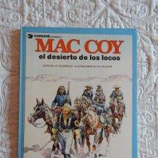 Cómics: MAC COY - EL DESIERTO DE LOS LOCOS N. 14. Lote 138879018