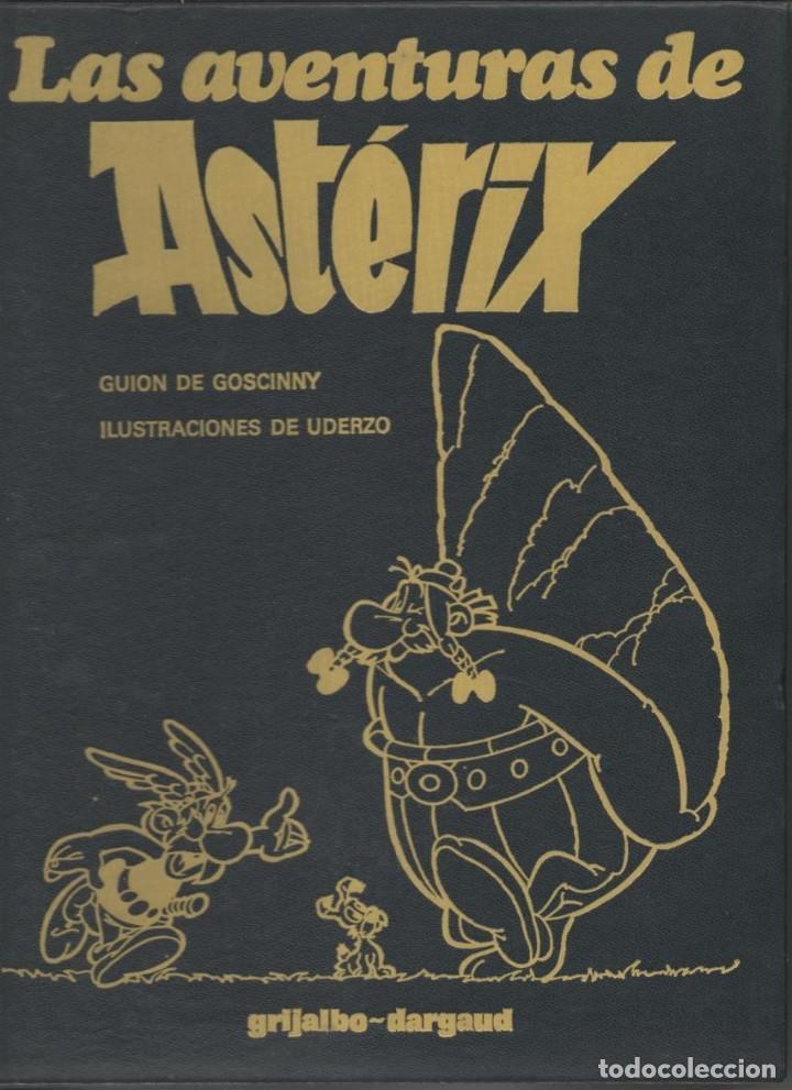LAS AVENTURAS DE ASTÉRIX TOMO III - PIEL TAPA DURA - GRIJALBO-DARGAUD 1981 (Tebeos y Comics - Grijalbo - Asterix)