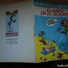 Cómics: LAS AVENTURAS DE TOMAS EL GAFE - EL GAFE DA EL GOLPE.- Nº 3 - JUNIOR. Lote 138934810