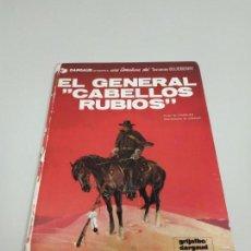 Cómics: 1118- EL GENERAL CABELLOS RUBIOS BLUEBERRY GRIJALBO AÑ0 1980 48 PAG . Lote 139188238