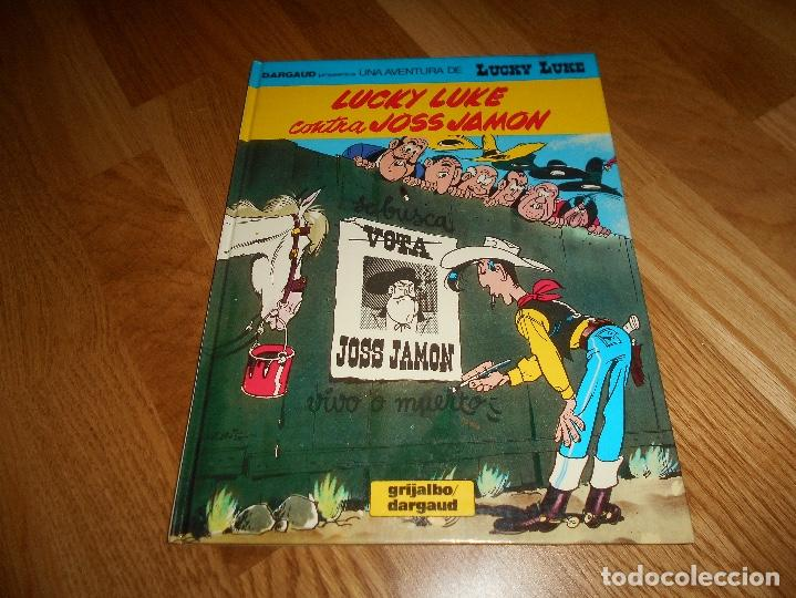 LUCKY LUKE Nº 46 - CONTRA JOSS JAMON - GRIJALBO DARGAUD 1991 - TAPA DURA - EN CASTELLANO PERFECTO (Tebeos y Comics - Grijalbo - Lucky Luke)