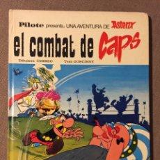 Cómics: ASTÈRIX EL COMBAT DELS CAPS - 1976 EDITORIAL MAS IVARS -CATALÁN. Lote 139555316