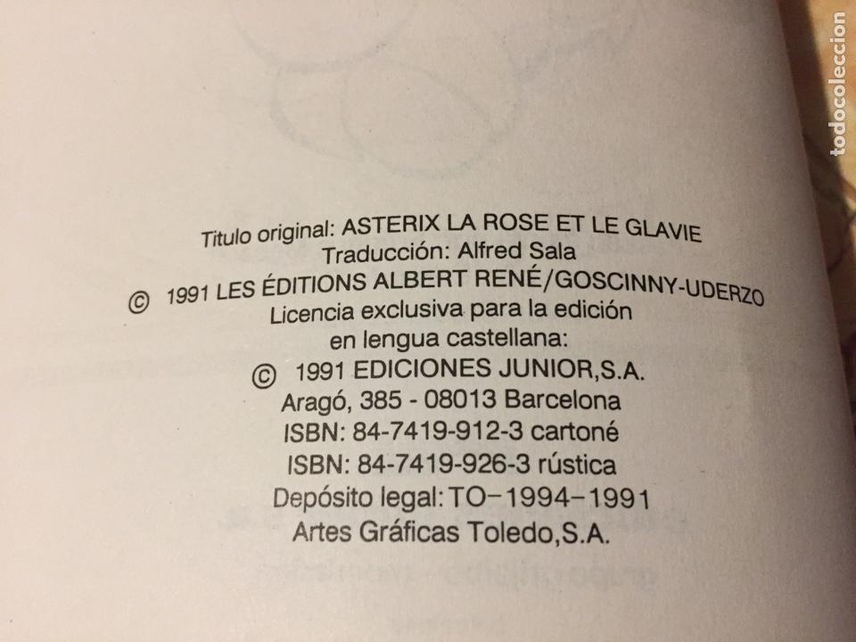 Cómics: Asterix la rosa y la espada tapa dura, Grijalbo año 1991, numero 29 - Foto 4 - 139557661
