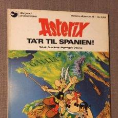 Cómics: ASTERIX - TA'R TIL SPANIEN! (DANÉS) MUY DIFÍCIL. Lote 139578740