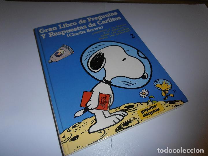 GRAN LIBRO DE PREGUNTAS Y RESPUESTAS DE CARLITOS ,TOMO 2 , CHARLIE BROWN SNOOPY , GRIJALBO DARGAUD (Tebeos y Comics - Grijalbo - Otros)