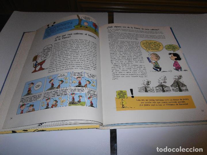 Cómics: GRAN LIBRO DE PREGUNTAS Y RESPUESTAS DE CARLITOS ,TOMO 2 , CHARLIE BROWN SNOOPY , GRIJALBO DARGAUD - Foto 3 - 139588370