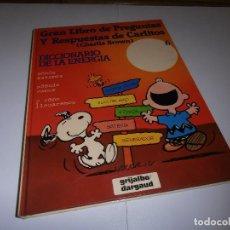 Cómics: GRAN LIBRO DE PREGUNTAS Y RESPUESTAS DE CARLITOS ,TOMO 6 , CHARLIE BROWN SNOOPY , GRIJALBO DARGAUD. Lote 139588486