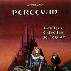 Cómics: PERCEVAN-1: LAS TRES ESTRELLAS DE INGAAR (JUNIOR, 1984) DE LÉTURGIE Y LGUY. TAPA BLANDA. Lote 139639434