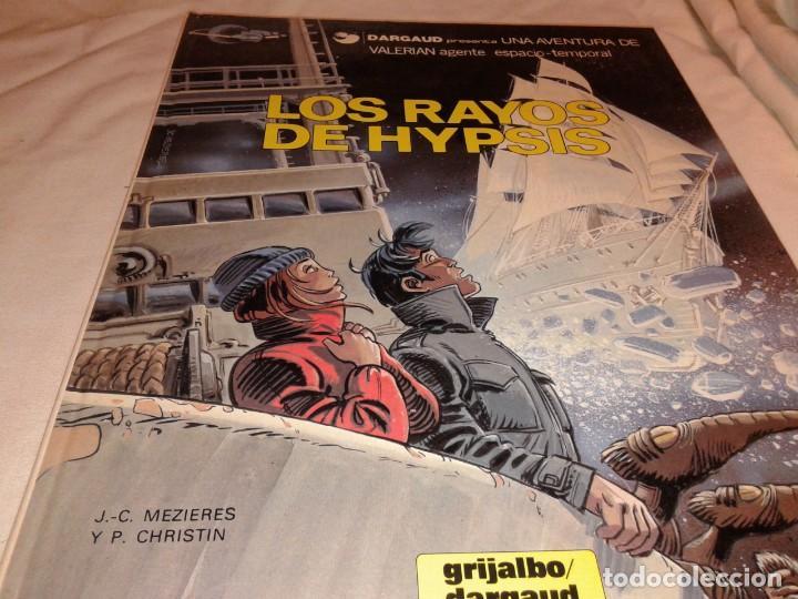 LOS RAYOS DE HYPSIS 1986 (Tebeos y Comics - Grijalbo - Valerian)