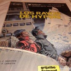 Cómics: LOS RAYOS DE HYPSIS 1986. Lote 139763290
