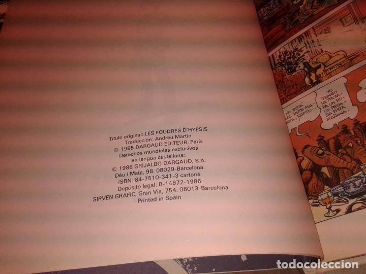 Cómics: LOS RAYOS DE HYPSIS 1986 - Foto 2 - 139763290